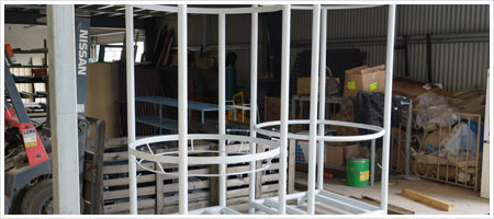 Downs Powdercoating Gallery image - Construction Materials